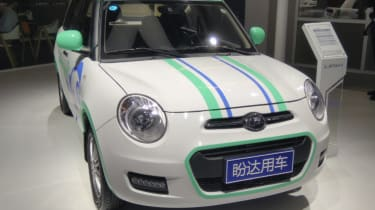 Small chinese car