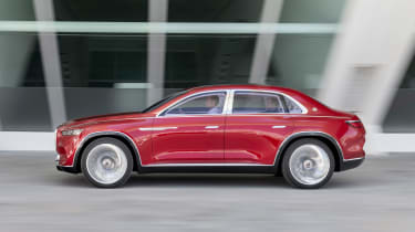Vision Mercedes-Maybach Ultimate Luxury concept - side