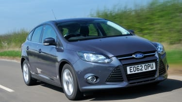 Ford Focus ECOnetic front tracking