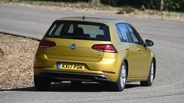 Volkswagen Golf - rear cornering