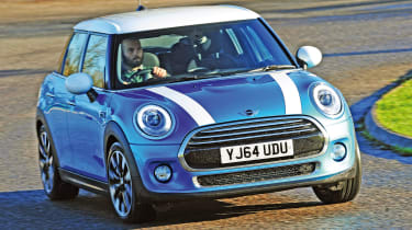 Much of the MINI's appeal comes from driving excitement behind the wheel.