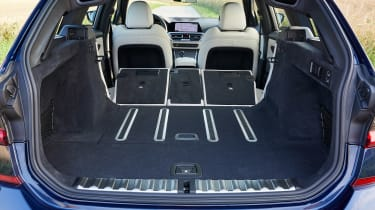 BMW 3 Series Touring - boot seats down
