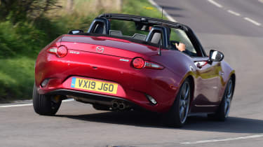 Mazda MX-5 long termer - first report rear