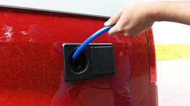 Volkswagen California Ocean long termer - first report water tank detail