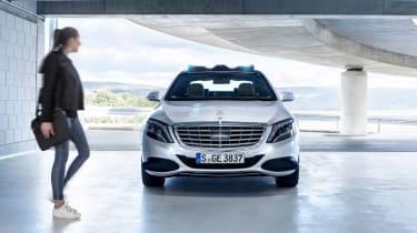 Mercedes Co-operative car - front