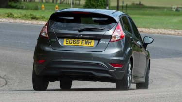 Ford Fiesta - rear