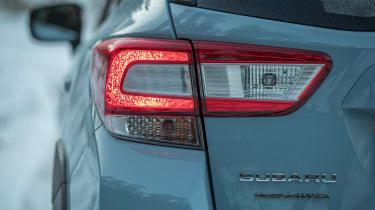 Subaru XV - rear light