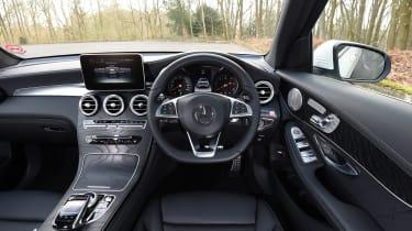 Mercedes GLC 350d 2017 - interior