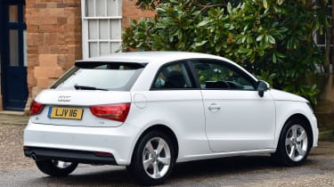 New Audi A1 2015 static rear