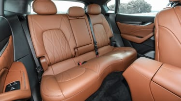 Maserati Levante - rear seats