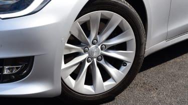 tesla model s alloy wheel