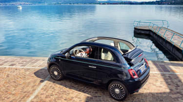 Fiat 500 Riva - rear quarter
