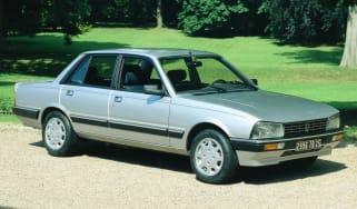 Peugeot 505 front