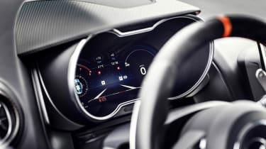 Alpine A110S - interior