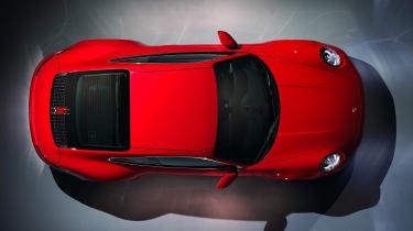 Porsche 911 Carerra Coupe - above