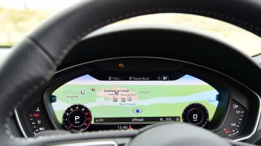 Audi A4 long-term test - Virtual Cockpit