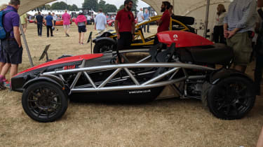 Ariel Atom 4 at Goodwood side