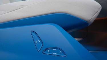 Volkswagen I.D. - seat controls
