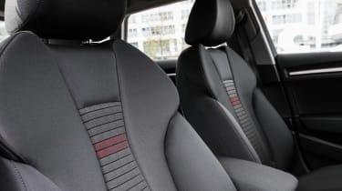 Audi A3 Sportback - seat detail