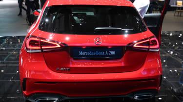 Mercedes A-Class boot