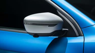New Nissan Qashqai facelift - wing mirror