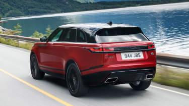 Range Rover Velar - rear panning