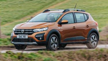 Dacia Sandero Stepway - front action