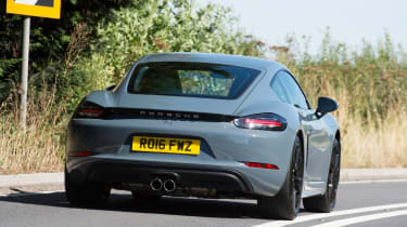Porsche 718 Cayman - rear cornering