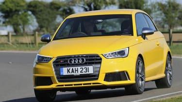 Audi S1 - front cornering