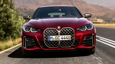 BMW 4 Series Gran Coupe - full front action