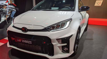 Toyota GR Yaris - front 3/4 static