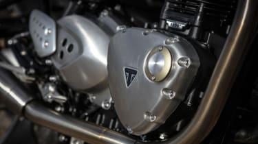 Triumph Thruxton R review - engine