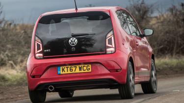 Volkswagen up! GTI - rear cornering