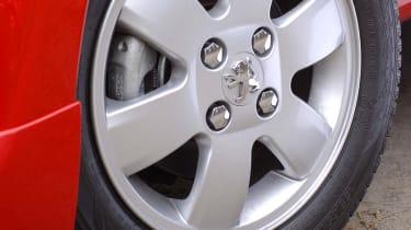 Peugeot 107 Sport XS wheel