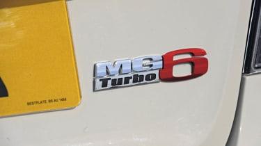MG6 Saloon badge