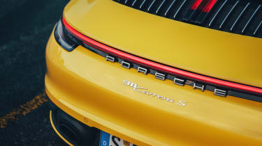 Porsche 911 - rear badge