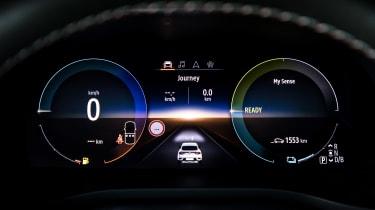 Renault Arkana - dials