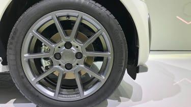 Smart EQ ForTwo - Frankfurt wheel