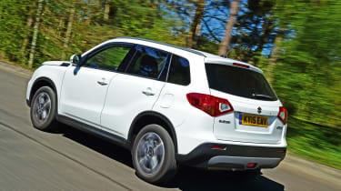 Suzuki Vitara - rear tracking