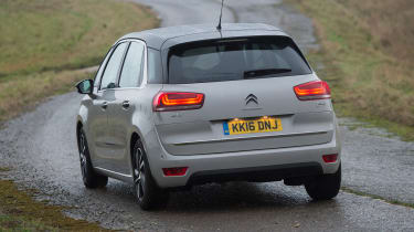 Citroen C4 Picasso long-termer - rear cornering