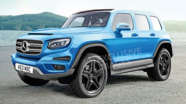 Mercedes GLB  - exclusive image front