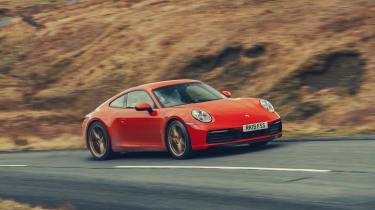 Porsche 911 Carrera S - front cornering