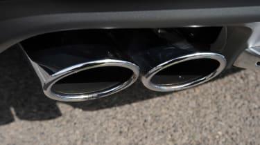 Audi S7 exhaust detail
