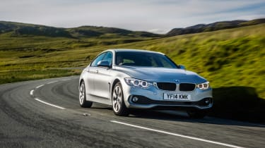 BMW 4 Series Gran Coupe 430d xDrive - front tracking