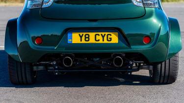 Aston Martin V8 Cygnet - rear detail
