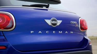 MINI Cooper SD Paceman badge