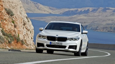 BMW 6 Series Gran Turismo - front tracking