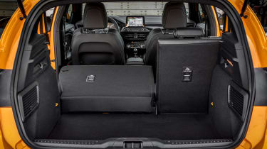 Ford Focus ST - boot seats down