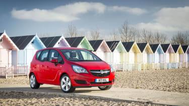 Vauxhall Meriva 2014 facelift - front static
