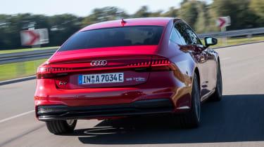 Audi A7 Sportback 55 TFSI e - rear cornering